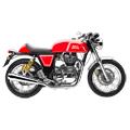Багажники, спинки, дуги, рамки для кофров, обтекатели, лайтбары и другие элементы тюнинга для мотоцикла Royal EnfieldContinental GT 535.