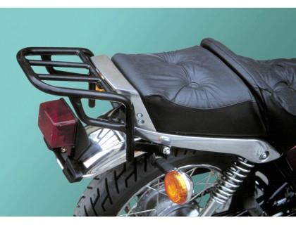 Черный багажник для мотоцикла YAMAHA SR 250 SP