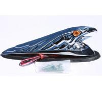 """Декоративная фигура """"орел"""" на крыло мотоцикла."""