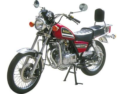 Защитные дуги SPAAN на мотоцикл SUZUKI GN 125/250, TU 250
