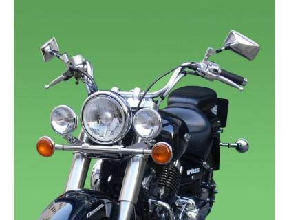 Лайтбар, люстра для мотоцикла (дуга, перекладина) YAMAHA DRAG STAR