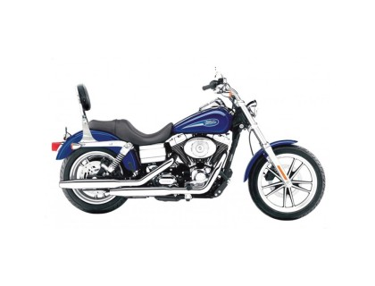 СпинкаSPAAN на мотоцикл Harley Davidson Dyna Glide (с 2006)