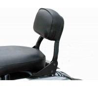 Черная низкая спинка SPAAN для мотоцикла HONDA SHADOW VT 750 S / SHADOW RS