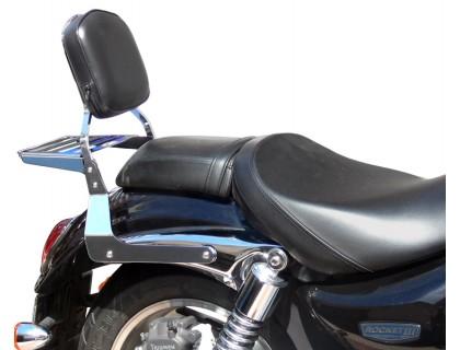 Спинка SPAAN с багажником для мотоцикла Triumph Rocket III, Rocket III Roadster