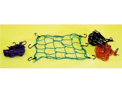 Багажная сетка (паук) - синяя