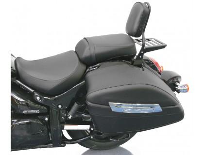 Спинка черная на мотоцикл с багажником SUZUKI INTRUDER C1500T, BOULEVARD C90T B.O.S.S.