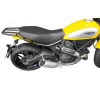 Багажник SPAAN (черный) для мотоцикла Ducati Scrambler, TRIUMPH Thruxton, Scrambler, Bonneville, Bonneville T100