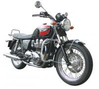Дуги безопасности SPAAN черного цвета для мотоцикла TRIUMPH Thruxton, Scrambler, Bonneville, Bonneville T100