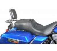 Спинка SPAAN с багажником черная на мотоцикл HARLEY DAVIDSON TOURING (1997-2008)