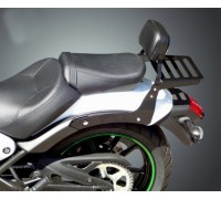 Спинка SPAAN пассажирская низкая с багажником для мотоцикла KAWASAKI VULCAN S 650