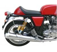 Черные рамки для быстросъемных кофров KlickFix для мотоцикла Royal Enfield Continental GT535