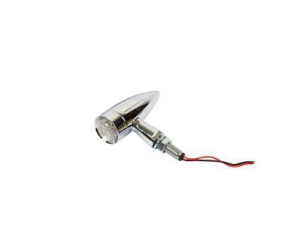 Светодиодный поворотный фонарь (хром)