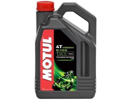 Моторное масло Motul 4T 5100 10W-30 4L
