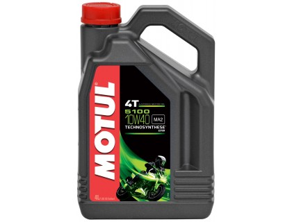 Моторное масло Motul 4T 5100 10W-40 4L