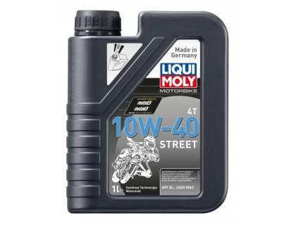 Моторное масло LIQUI MOLY Motorrad 4T 10W40 1L