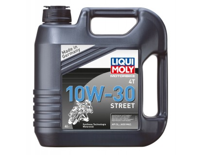Моторное масло LIQUI MOLY Racing 4T 10W30 4L
