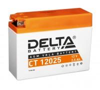 Аккумулятор Delta CT 12025, 12В, 2.5Ач