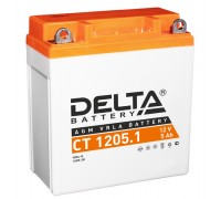 Аккумулятор Delta CT 1205.1, 12В, 5Ач