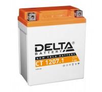 Аккумулятор Delta CT 1207.1, 12В, 7Ач