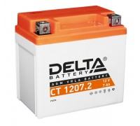 Аккумулятор Delta CT 1207.2, 12В, 7Ач