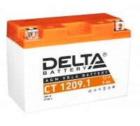 Аккумулятор Delta CT 1209.1, 12В, 9Ач