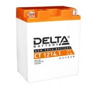 Аккумулятор Delta CT 1214.1, 12В, 14Ач