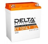 Аккумулятор Delta CT 1216.1, 12В, 16Ач