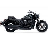 Спинка с багажником черного цвета для мотоцикла SUZUKI BOULEVARD C90 B.O.S.S.