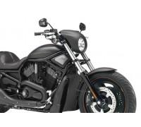 Черный матовый обтекатель фары для мотоцикла Harley-Davidson V-ROD, NIGHT ROD, SPORTSTER