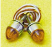Фонари габаритные янтарные mini.