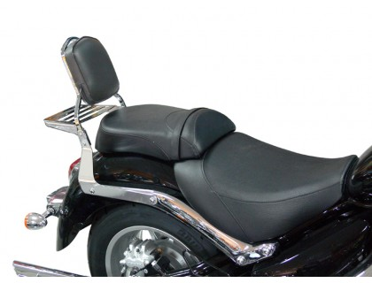 Спинка SPAAN с багажником на мотоцикл SUZUKI INTRUDER C1800/C1800R, BOULEVARD C109/C109R