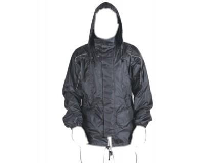 Дождевик куртка (ветровка) с капюшоном.