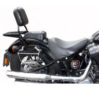 Спинка SPAAN на мотоцикл с багажником HARLEY DAVIDSON FLS Slim, FXS Blackline