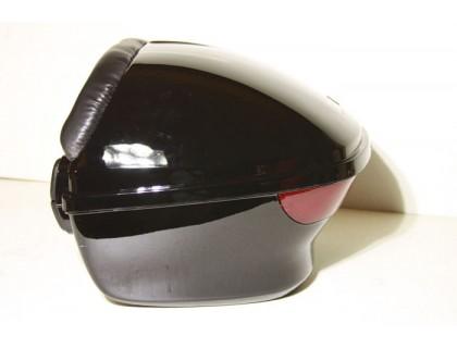 Кофр для скутера жесткий задний закругленный с фарой и спинкой.