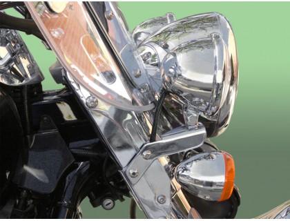 Лайтбар, люстра для мотоцикла (дуга, перекладина) KAWASAKI VULCAN VN1600 CL TOURER