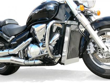 Защита на радиатор для мотоциклов SUZUKI INTRUDER C1800 / C1800R, BOULEVARD C109 / C109R