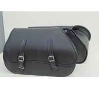 Кофры кожаные боковые для мотоцикла (сумка седельная)