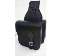Кофры кожаные для мотоцикла перекидные планшеты