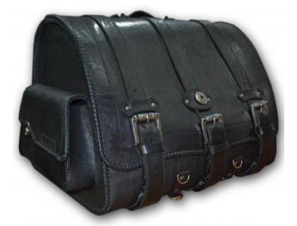 Кофр задний (центральный) кожаный