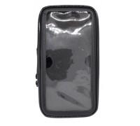 Влагонепроницаемый чехол для телефона с диагональю 4.9''-5.5'' (16 х 7,8 см) на руль мотоцикла, велосипеда, самоката