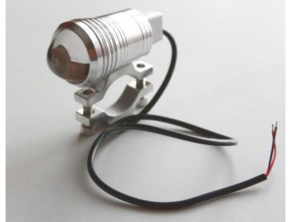 Светодиодный фонарь допсвета на дуги мотоцикла.