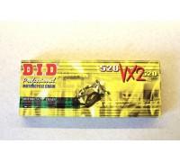 520VX2-114 Цепь приводная DID 114 звеньев