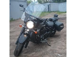 Так смотрится короткая спинка на мотоцикле SPAAN