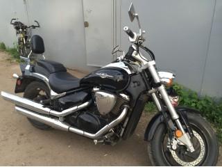 Со спинкой SPAAN совсем другой вид у мотоцикла
