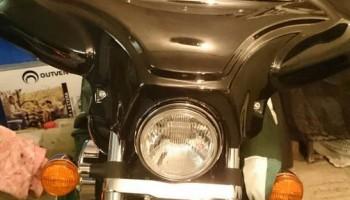 Установка батвинга (обтекателя) на мотоцикл.