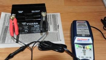 Тестирование зарядного устройства Optimate 6