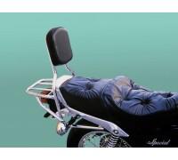 Спинка SPAAN с багажником для мотоцикла YAMAHA SR 250 CL, SR 250 SP