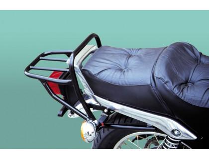 Черный багажник на мотоцикл YAMAHA SR 250 CL, SR 250 SP