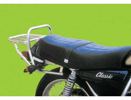 Хромированный багажник на мотоцикл YAMAHA SR 250 CL, SR 250 SP