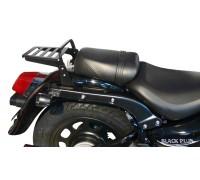 Черный багажник (18 см) для мотоцикла Daelim DAYSTAR Black Plus 125 Fi / Dark Plus 125 Fi / Grey Plus 125 Fi